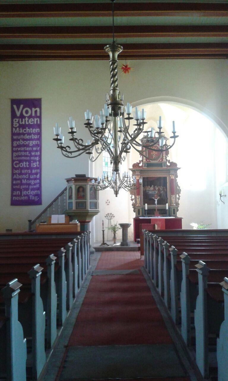 Dorfkirche Nitzow - Altar
