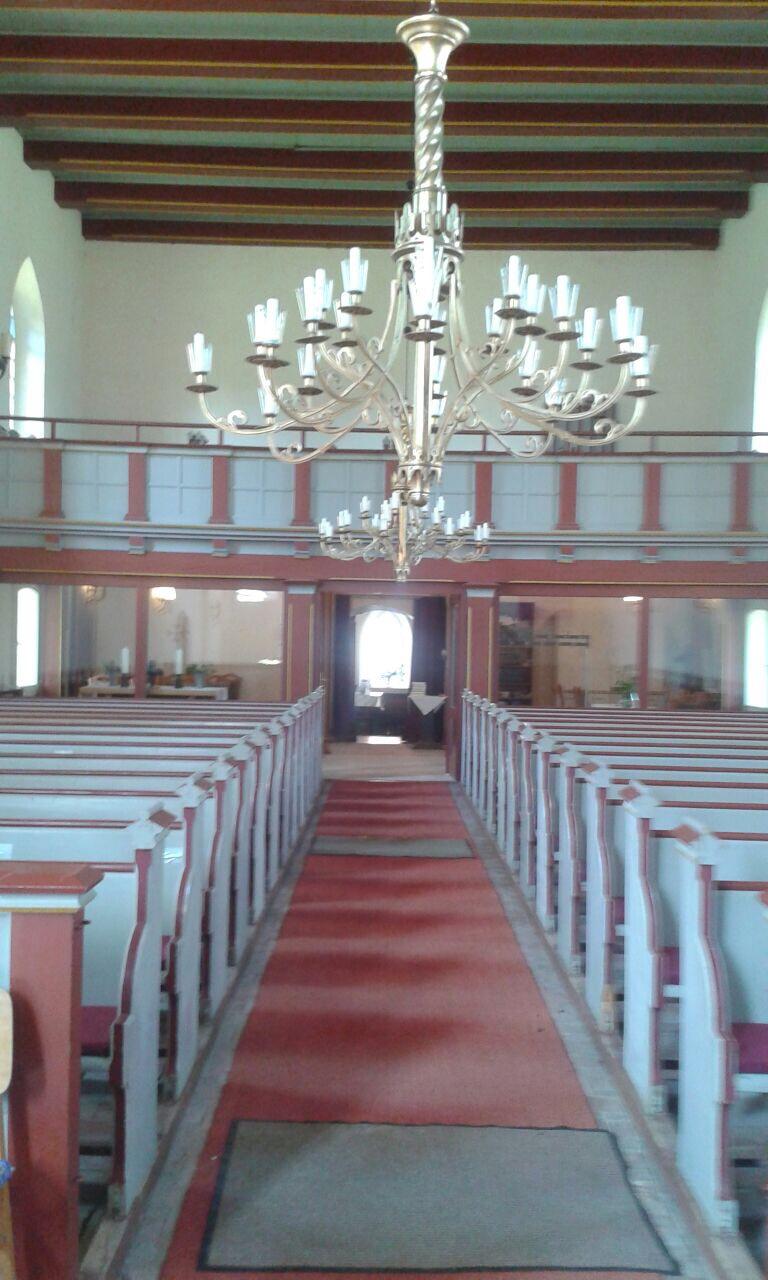Dorfkirche Nitzow - Empore
