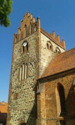 Dorfkirche Nitzow - Turm
