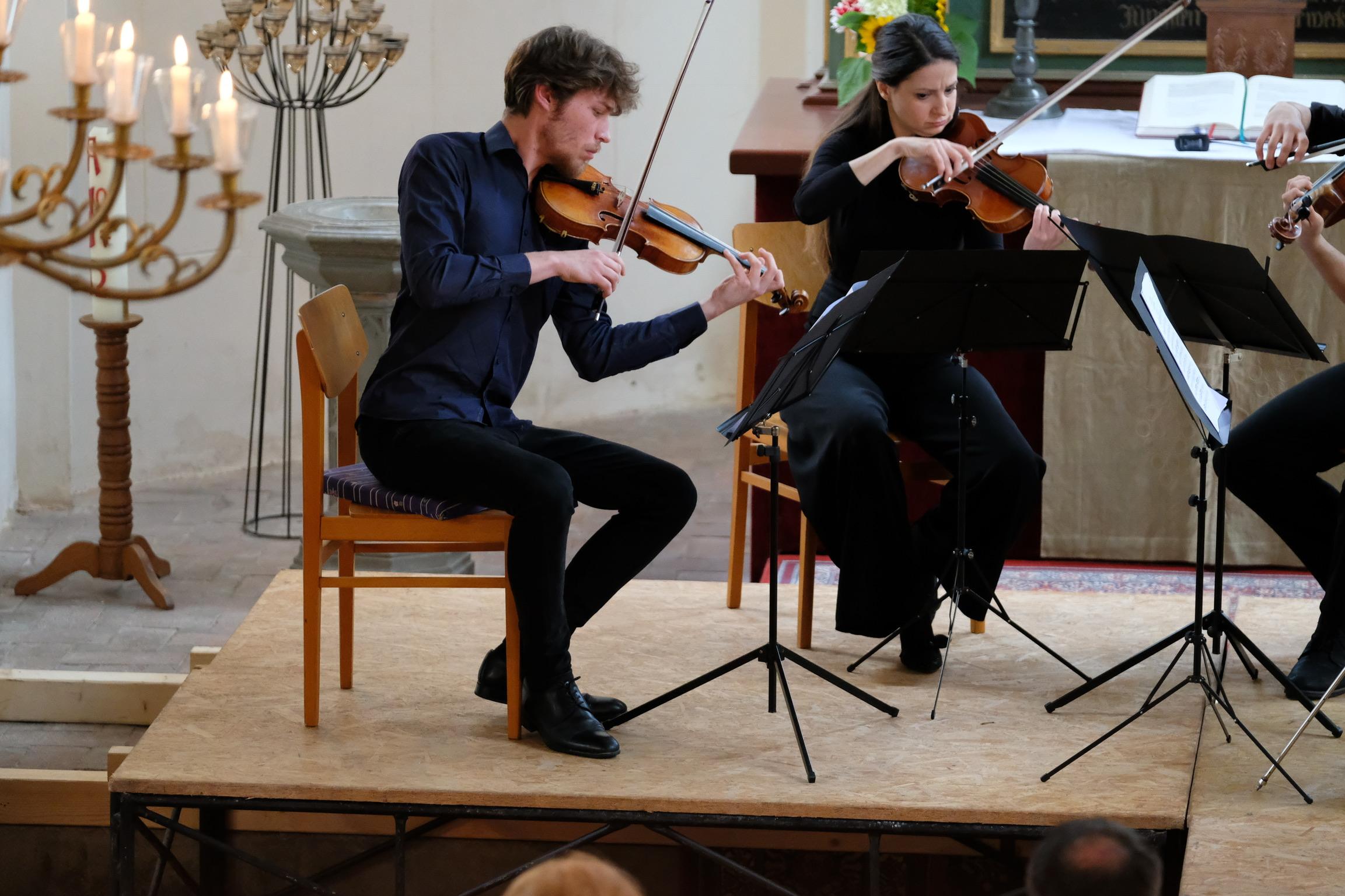 Kammermusikakademie Nitzow - Fotos David Adorjan